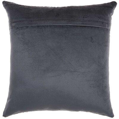 Velvet Throw Pillow Color: Midnight Blue