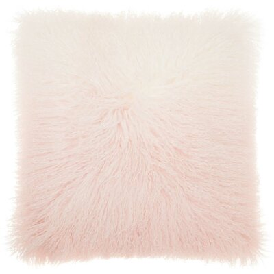 Hornsea Throw Pillow Color: Pink