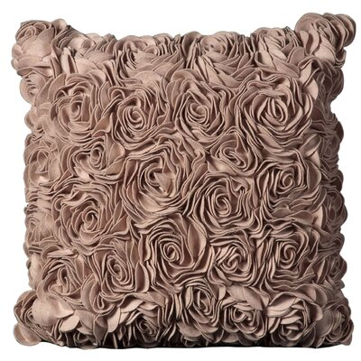 Felt Throw Pillow Color: Pink