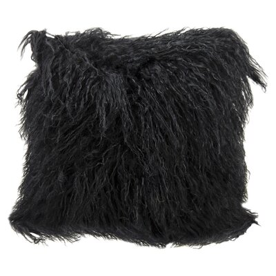 Billings Throw Pillow Color: Black