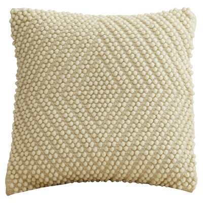 Bernville Throw Pillow Color: Ivory