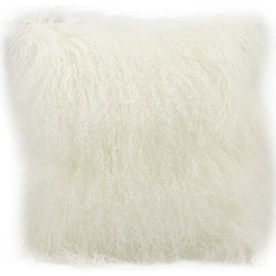 Billingham Lumbar Pillow Color: White, Size: 14 H x 20 W x 0.5 D