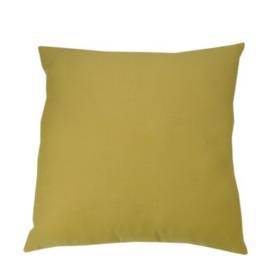 Oversized Throw Pillow Color: Yellow
