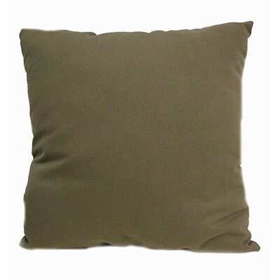Isle of Palms Throw Pillow Color: Basil