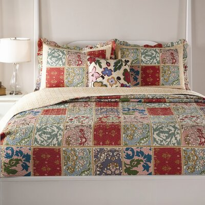 Melange Quilt Set Size: King