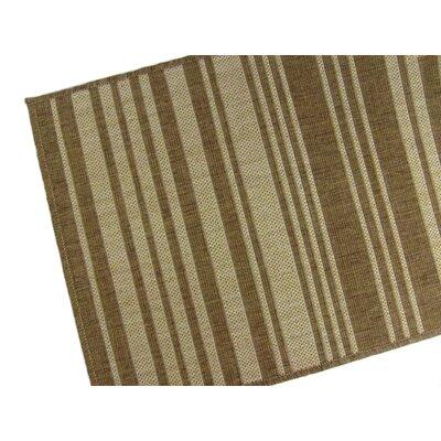 Barcode Chocolate Indoor/Outdoor Area Rug Rug Size: 710 x 112