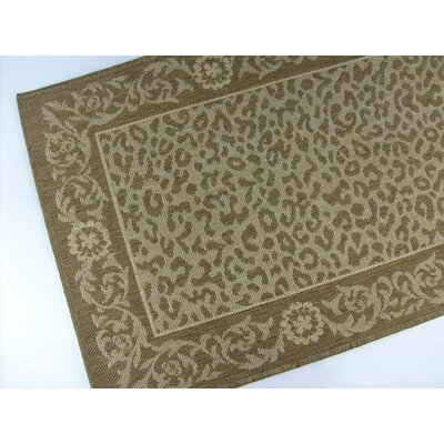 Kenya Chocolate Indoor/Outdoor Rug Rug Size: 710 x 112