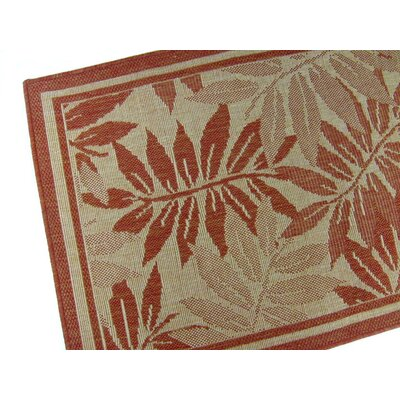 Palm Island Terracotta Indoor/Outdoor Area Rug Rug Size: 710 x 112