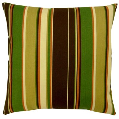 Cove Stripe Indoor/Outdoor Throw Pillow Size: 16 x 16
