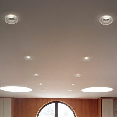 Iside 3.63 LED Recessed Lighting Kit Finish: Satin White