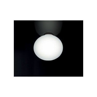 Sphera Pp Ceiling Finish: White, Size: 9.75 H x 11.5 W x 11.5 D, Bulb Type: 18 Watt G24Q2 CFL