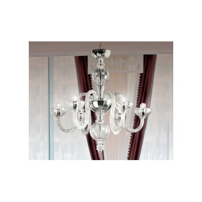Olandese 6-Light Crystal Chandelier