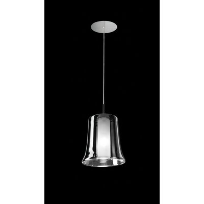 Cloche S Finish: Polished Chrome, Shade Color: Mirror chrome