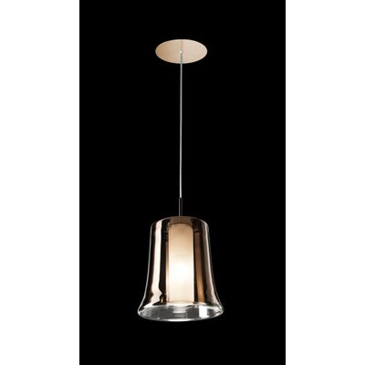 Cloche S Finish: Copper, Shade Color: Copper
