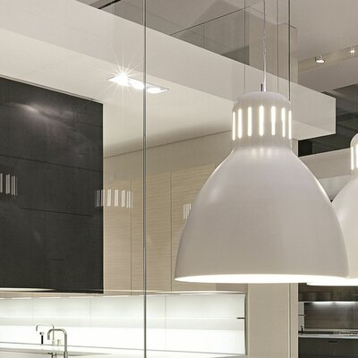 The Great JJ Pendant Shade Color: Matte Light Grey