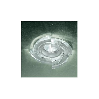 Step 5.4 LED Recessed Lighting Kit Finish: Crystal, Size: 5.4 H x 12 W x 4 D