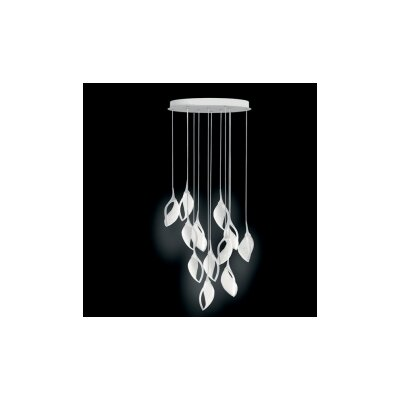 Nia 12-Light Cascade Pendant