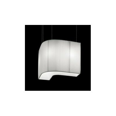 Vanity 3-Light Pendant Shade Color: White, Bulb Type: 26 W GU24 Fluorescent