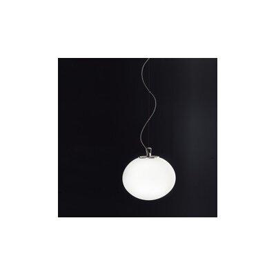 Sphera Suspension Size: 118 H x 11.5 W x 11.5 D, Bulb Type: 75 Watt A-19 Incandescent, Finish: Matte White