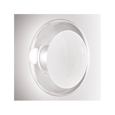 Gill Wall/Ceiling Light Finish: Satin White