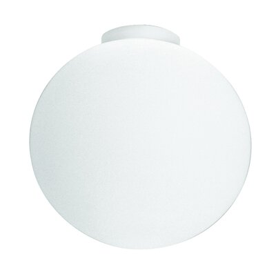 Sphera Pp Ceiling Bulb Type: 75 Watt A-19 Incandescent, Finish: Nickel, Size: 12.25 H x 14.5 W x 14.5 D