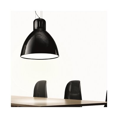 The Great JJ Pendant Shade Color: Matte Black