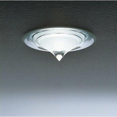 Glass Trim Recessed Lighting Kit Finish: Satin White/Crystal Tip, Bulb: Halogen