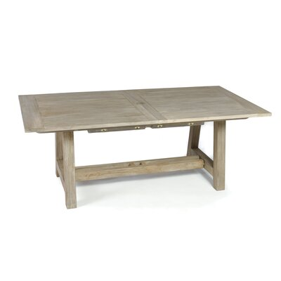 Lakewood Dining Table Table Size: 118 L x 39 W