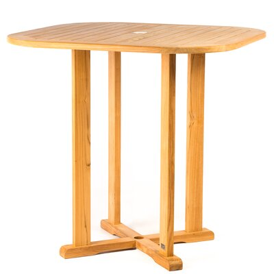 Myers Square Wooden Bar Table