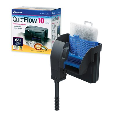 Buy low price aqueon power filter size 10 to 20 gallon for 10 gallon fish tank size