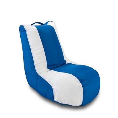 X Rocker Ace Bayou Bean Bag Chair - Color: Blue / White at Sears.com