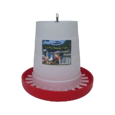 Poultry Feeder in Plastic Size: 17 lbs