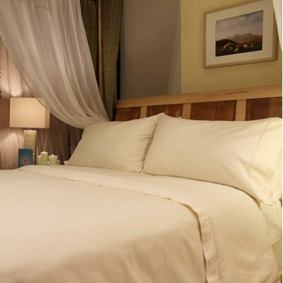 Organic 400 Thread Count Sheet Set Size: Queen