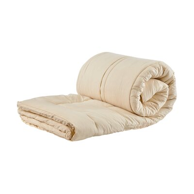 Organic 1.5 Wool Mattress Topper Size: Queen