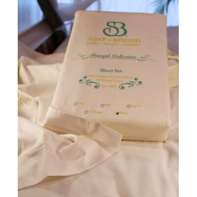 Organic Duvet Cover Set Size: Queen