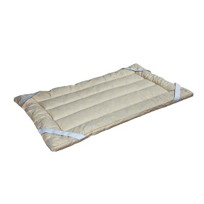 1.5 Wool Mattress Topper Size: Twin