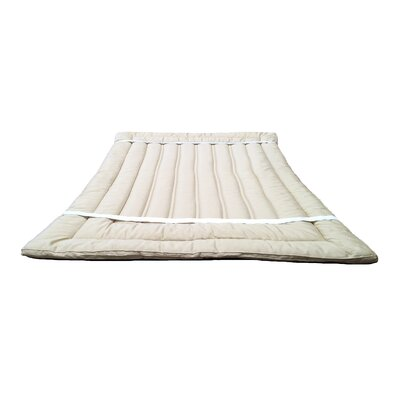 Organic Merino Wool Mattress Topper Size: King