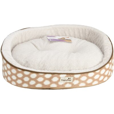 Ikat Dog Bed Size: 26 L x 21 W, Color: Brown