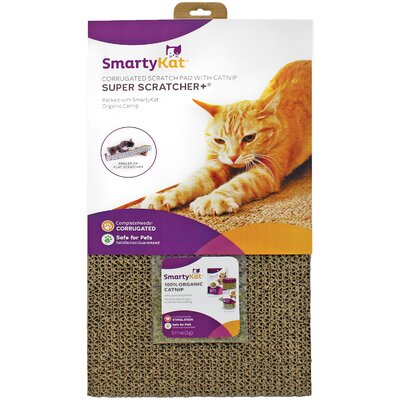 Cat Scratcher Plus Catnip