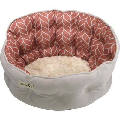 Petlinks Purrr Heaven Cat Bed Color: Rose