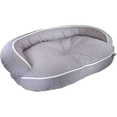Loved Ones Constant Comfort Bolster Dog Bed Color: Brown