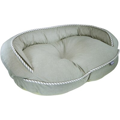 Loved Ones Constant Comfort Bolster Dog Bed Color: Green