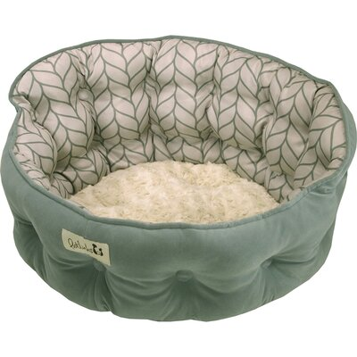 Petlinks Purrr Heaven Cat Bed Color: Surf