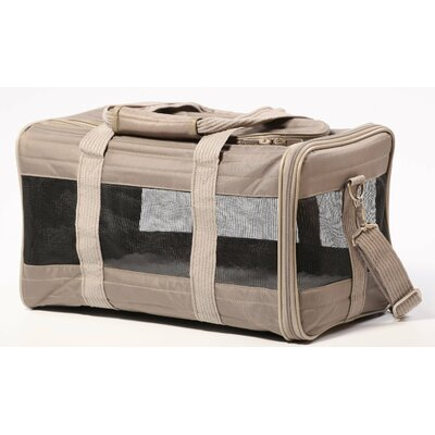 Pet Carrier Size: Sherpa Original Deluxe Large Gray