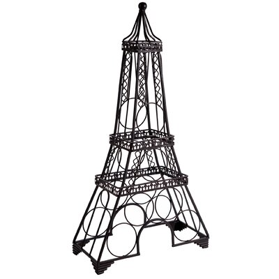 Eiffel Tower 6 Bottle Tabletop Wine Bottle Rack