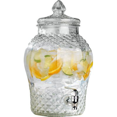 Cellini Diamond Cut 384 oz. Beverage Dispenser 9360