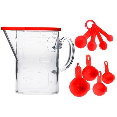 12 Piece Plastic 1.5 Qt. Measuring Set 80245
