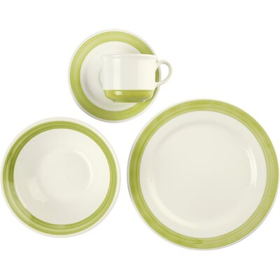 Iris 16 Piece Dinnerware Set for 4 5864