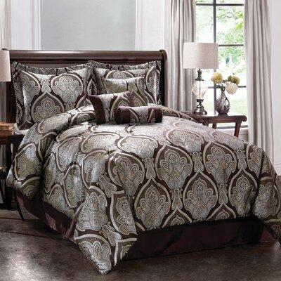 Monroe Grandview Comforter Set with Bonus Pillows - Size: King