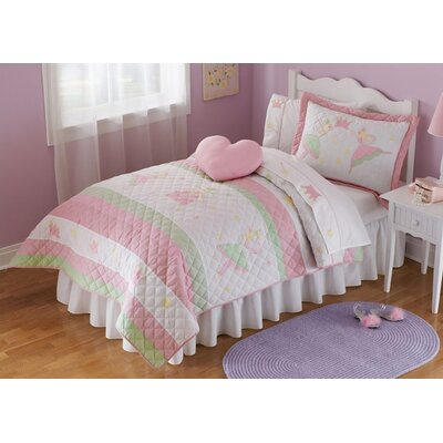 Buy low price my world fairy balleris quilt with pillow for World crib bedding